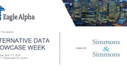 Eagle Alpha Alternative Data Event in London
